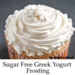 Sugar Free Greek Yogurt Frosting