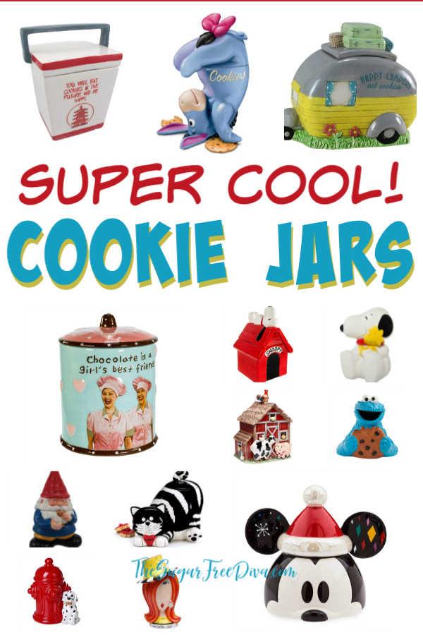 Super Cool Looking Cookie Jars