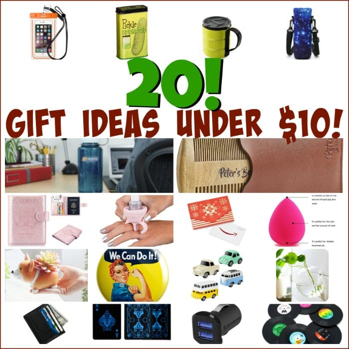 20 Gift Ideas Under Ten Bucks