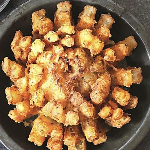 Air Fried Blooming Onion