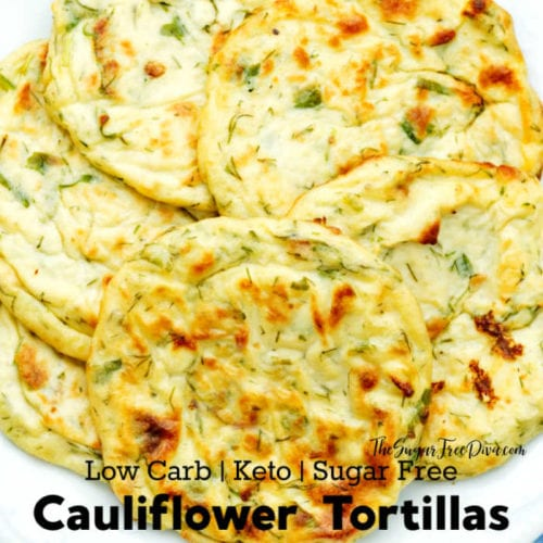 Homemade Cauliflower Tortilla Wraps