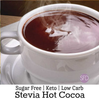 Sugar Free Hot Cocoa Made With Stevia