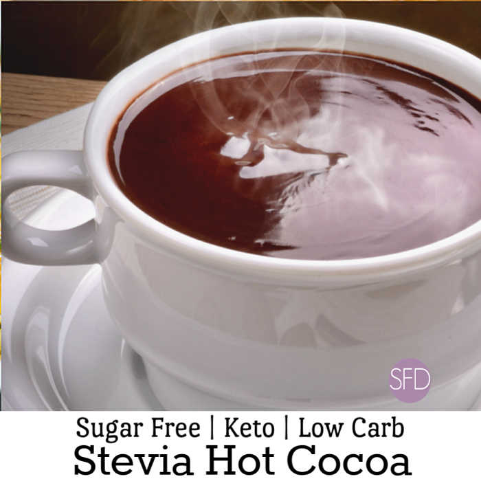 Sugar Free Cocoa Made With Stevia