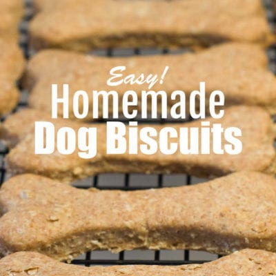 Easy Homemade Dog Biscuits