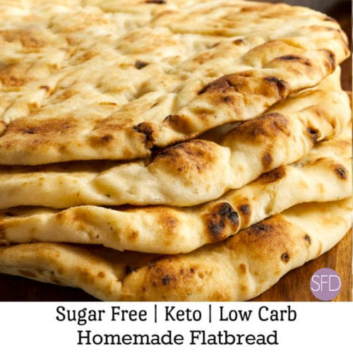 Keto Low Carb Flatbread
