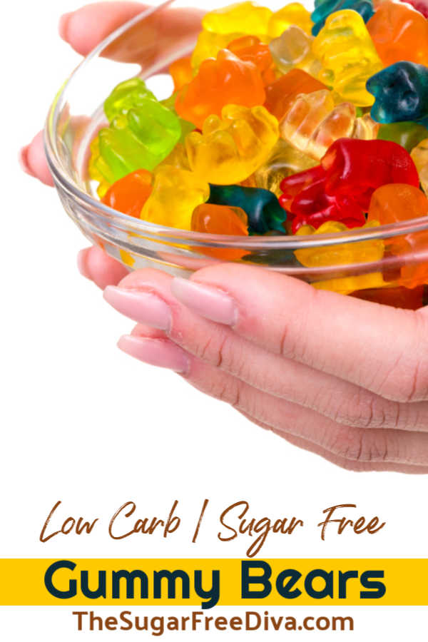 Homemade Sugar Free Gummy Candy