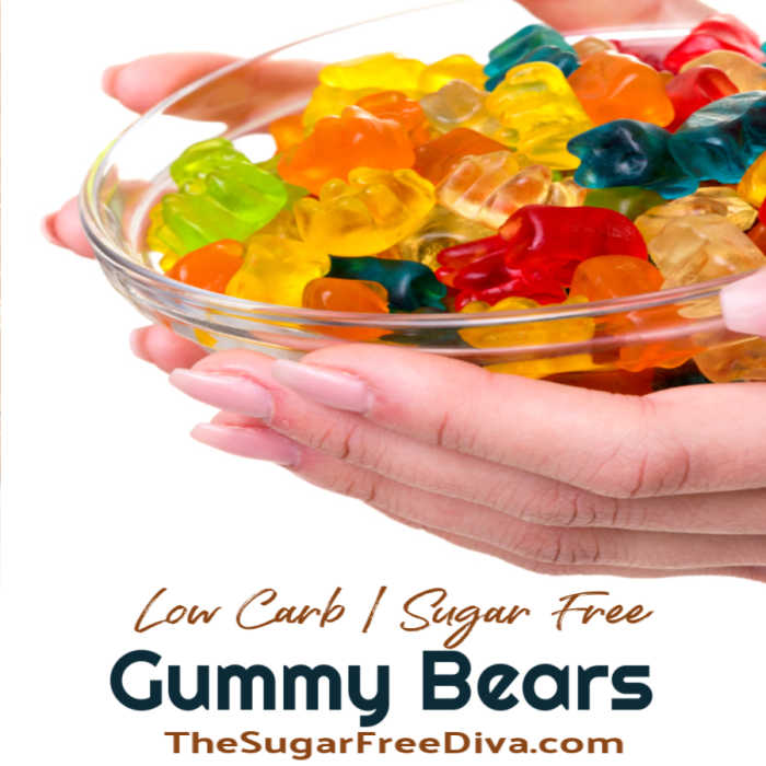 Homemade Sugar Free Gummy Candy The Sugar Free Diva