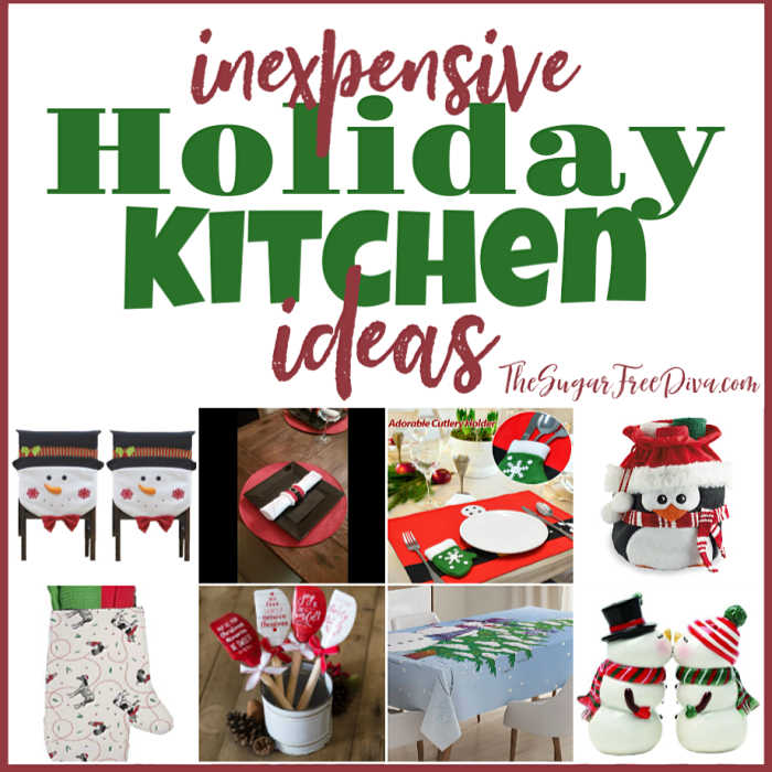 Inexpensive Holiday Kitchen Ideas