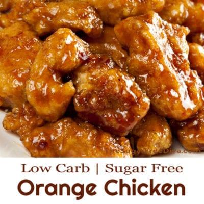 Sugar Free Low Carb Orange Chicken