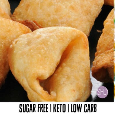 Low Carb Crab Rangoon