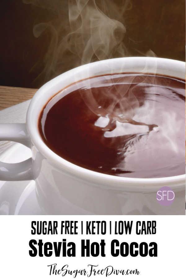 Sugar Free Cocoa Made With Stevia