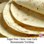 Keto Low Carb Tortillas