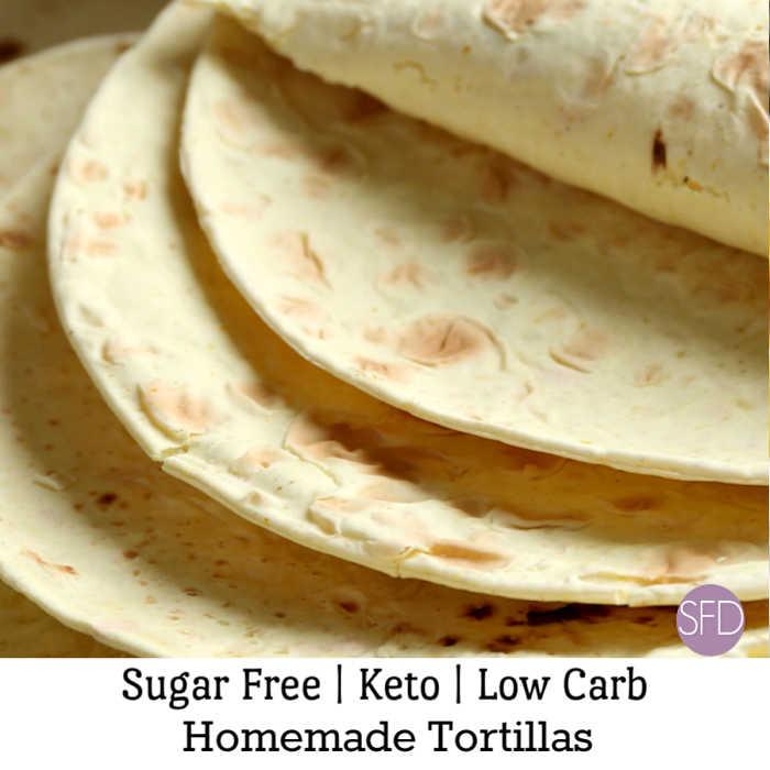 Keto Low Carb Tortillas