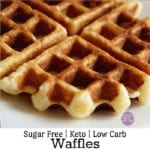 Keto Low Carb Waffles