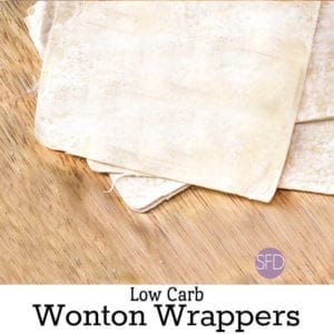 Low Carb Wonton Wrappers