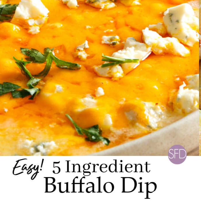 5 Ingredient Buffalo Dip