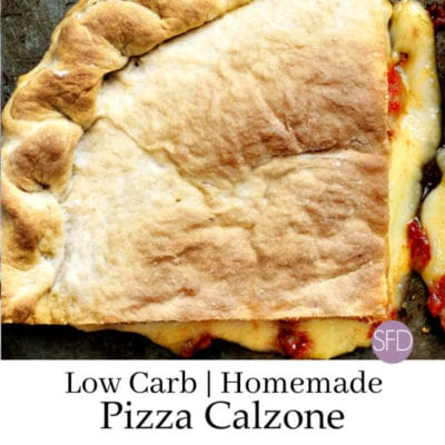 Low Carb Pizza Calzones