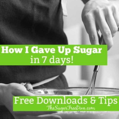 How to Give Up Sugar in a Week