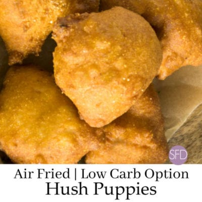 Air Fried Low Carb Hush Puppies