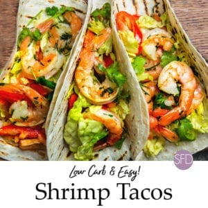 Easy Low Carb Shrimp Tacos