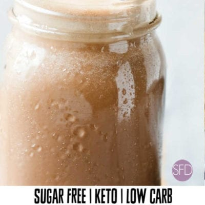 Sugar Free Mocha Smoothie