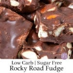 Sugar Free Rocky Road Fudge