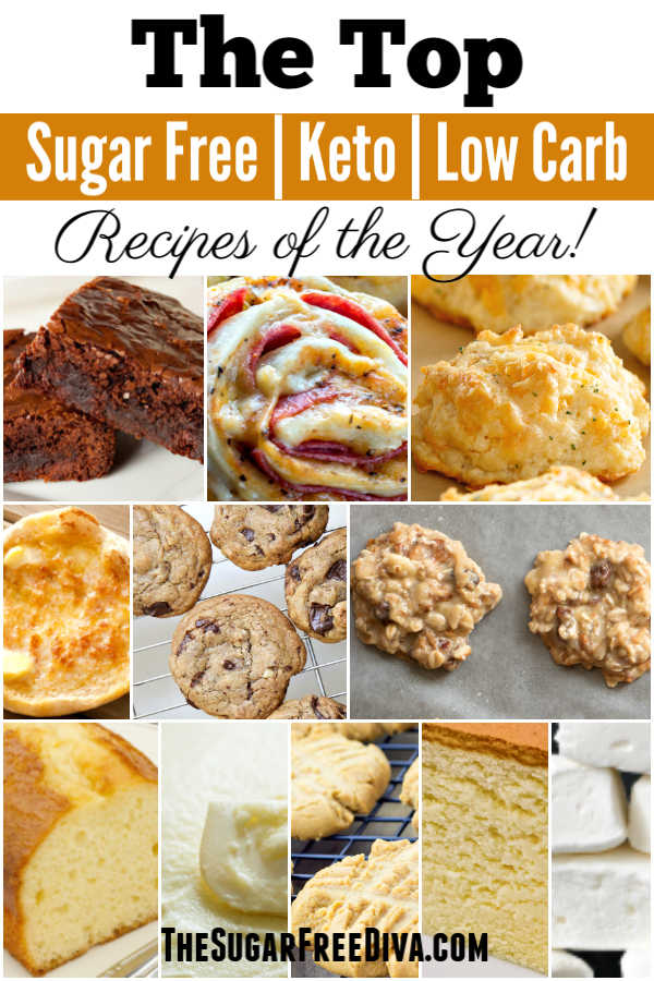 Top Sugar Free Keto and Low Carb Recipes for the Year