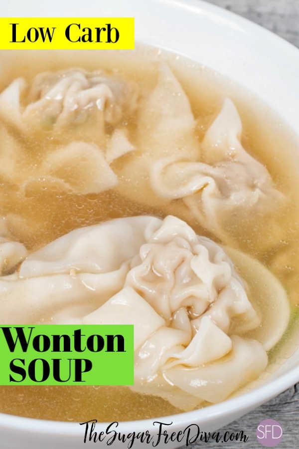 Easiest Homemade Wonton Soup
