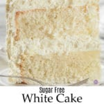 Sugar Free White Cake Recipe