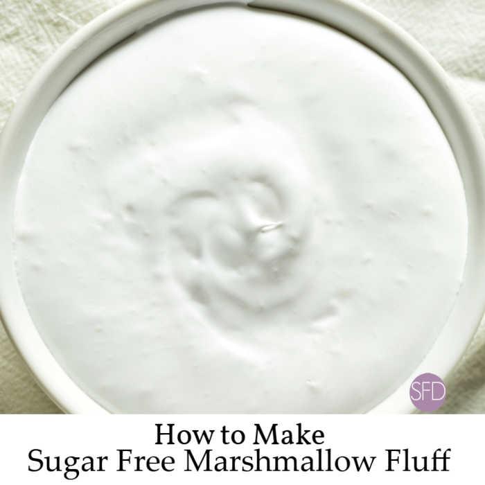 Sugar Free Marshmallow Fluff