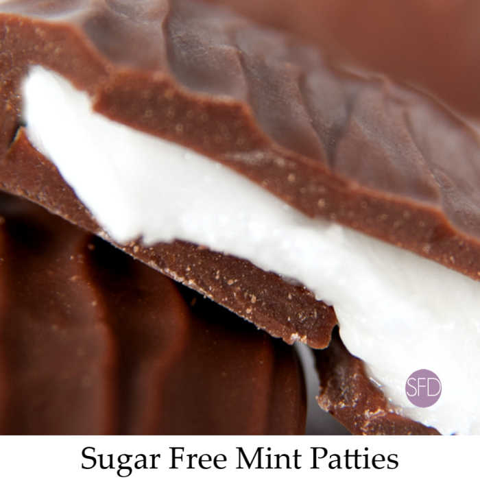Sugar Free Mint Patty Candy