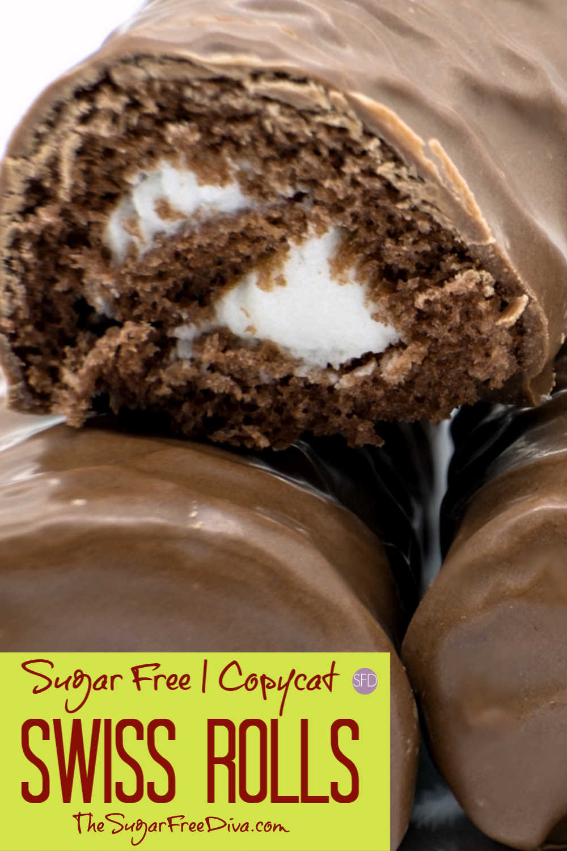 Sugar Free Copycat 'Swiss Rolls'