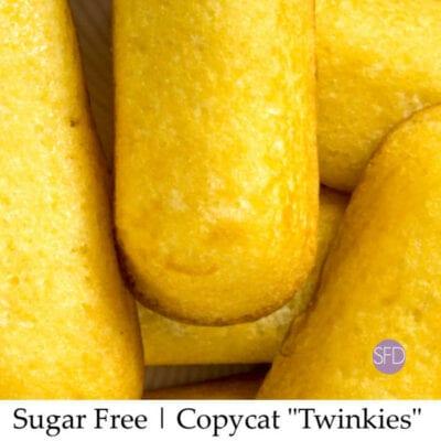 "Sugar Free Copycat ""Twinkie"" Cakes"