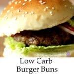 Low Carb Gluten Free Buns