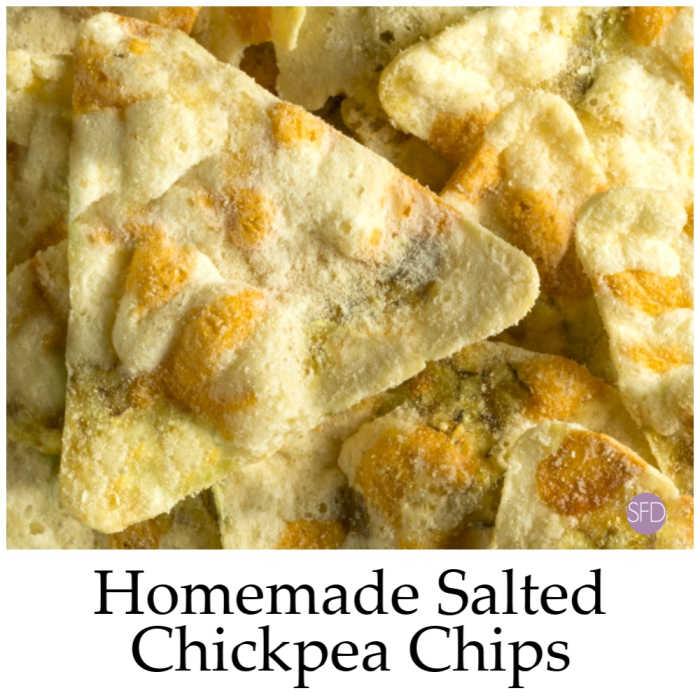 Gluten Free Chickpea Chips