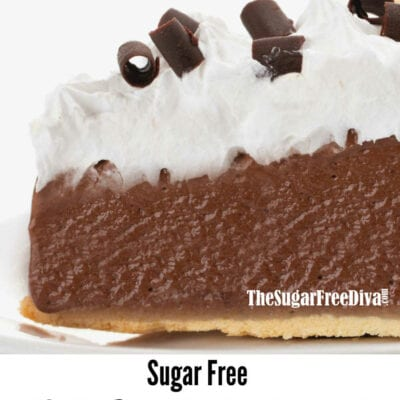 Sugar Free French Silk Pie
