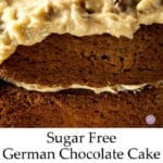 Sugar Free German Chocolate Cake