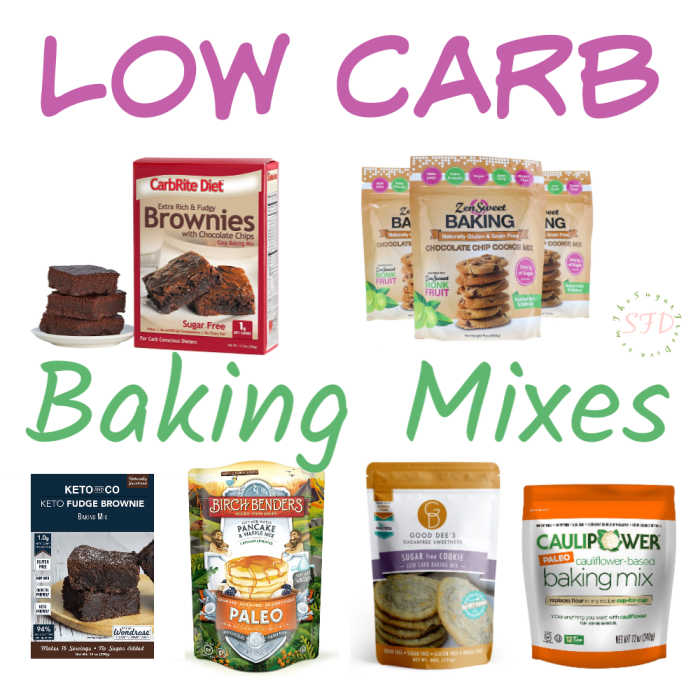Low Carb Baking Mixes