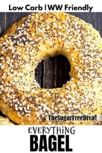 Low Carb Everything Bagels