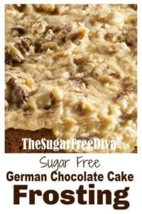 Sugar Free German Chocolate Frosting
