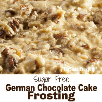 Sugar Free German Chocolate Frosting