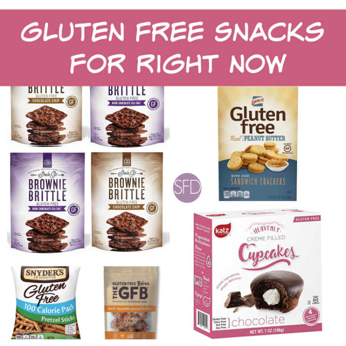 Gluten Free Snacks for Right Now