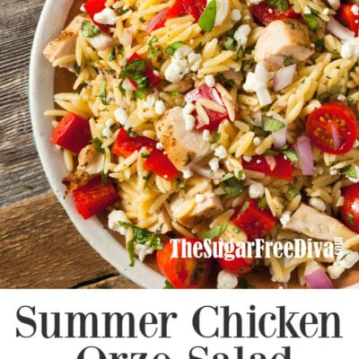 Chicken Orzo Salad