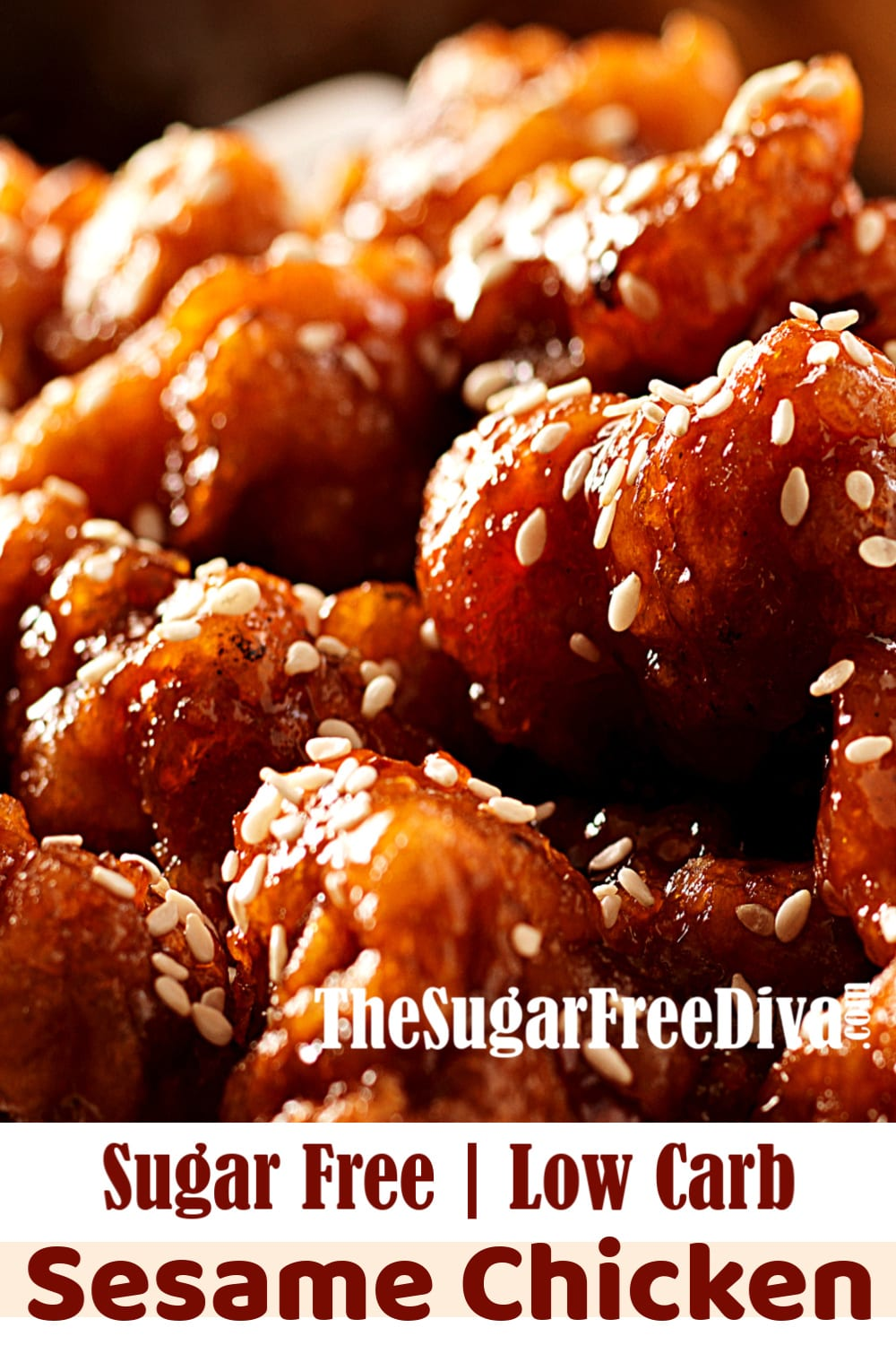 Sugar Free Sesame Chicken