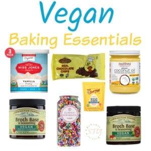 Vegan Baking Alternatives