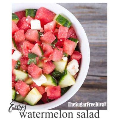 The Best Watermelon Salad Recipe