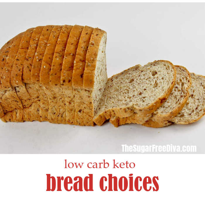 Low Carb Keto Bread Choices