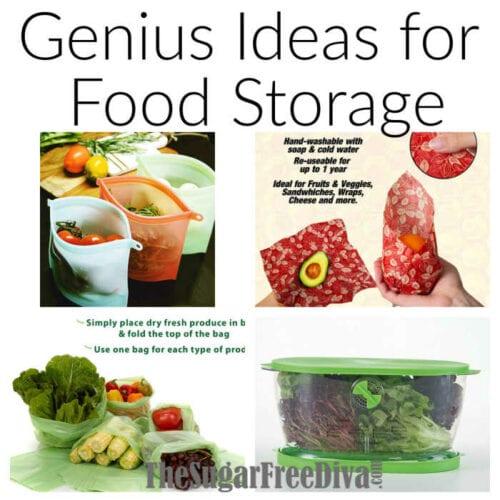 Genius Ideas for Food Storage