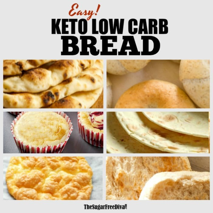Keto Low Carb  Bread