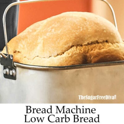 Low Carb Bread Machine Bread